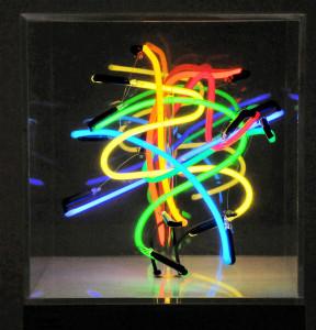 13. LIGHTLAND 120073 - 35 x 35 x 35. Vetro, argon, plexiglas, materiali elettrici - 2012 (ridotta) copia 1