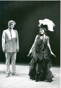 Danilo Bertazzi as The Little Prince - Nadia Brustolon as The Rose